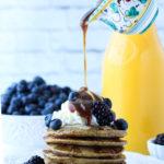Quinoa Blender Pancakes