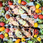 Sheet Pan Rosemary Balsamic Salmon