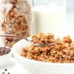 Maple Pecan Coconut Granola
