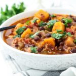 Butternut Squash Black Bean Turkey Chili