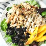 Blackberry Mango Chicken Salad