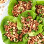 Healthy Chicken Lettuce Wraps