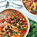 Vegetarian Pressure Cooker Taco Soup